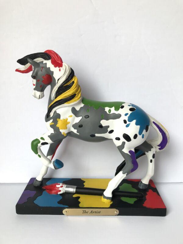 Enesco Trail of Painted Ponies The Artist Figurine Item # 4049719