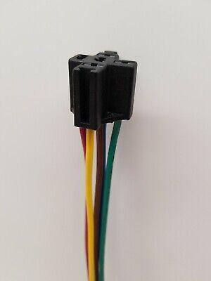 12v Relay Socket Wire Harness Connector 5pin Car Auto Automotive Heavy Duty
