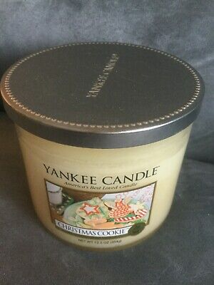 YANKEE CANDLE CHRISTMAS COOKIE 12.5 OZ DOUBLE WICK JAR CANDLE - BRAND NEW