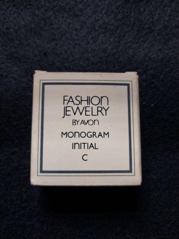 """Avon Vintage 1983 Monogram Initial """"C"""""""