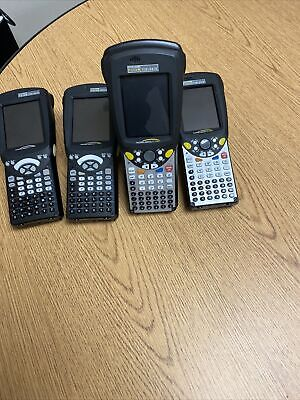 Lot Of 4 Psion Teklogix 7525c-g1 7527c-g2 Workabout Pro Barcode Scanner