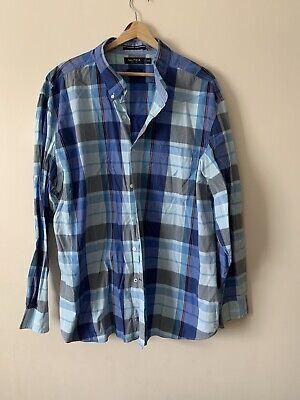 Mens nautica checked Shirt xxl