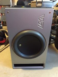"13"" JL Audio w7 Anniversary subwoofer in box"
