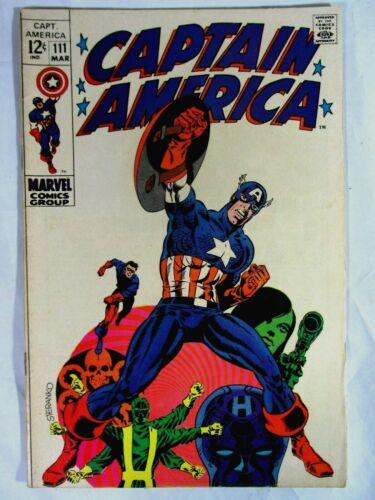 Captain America #111 Jim STERANKO Cover Key