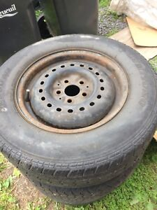 Tyres, rims for Dodge Caravan
