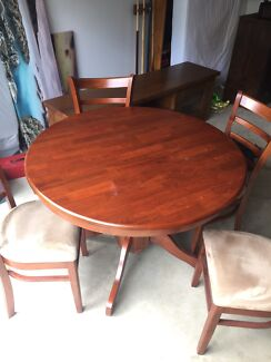 Extendable Dining Table X4 Chairsdining Chairs In Adelaide Region SA Gumtree Australia Free