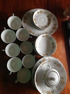 Lovely fine china dishes