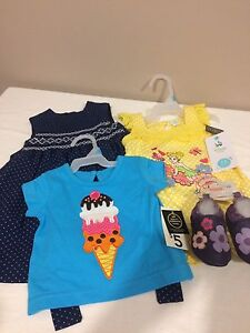 Cute new baby girl clothes