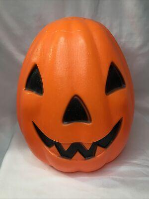 "Vintage 12"" Empire Jack O' Lantern Pumpkin Blow Mold VTG Halloween Decoration"