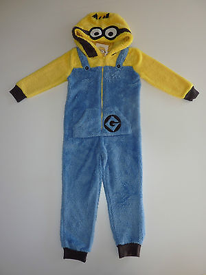 DESPICABLE ME Fleecy Hooded All in One / Dress Up NWT (Despicable Me Dress Up)