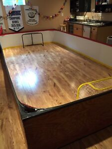 Mini stick rink boards - indoors