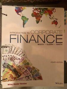 Corporate Finance Lakehead