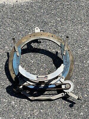Hm 12 Pipe Beveling Saddle Machine Beveler Cutting Fitting Mathey