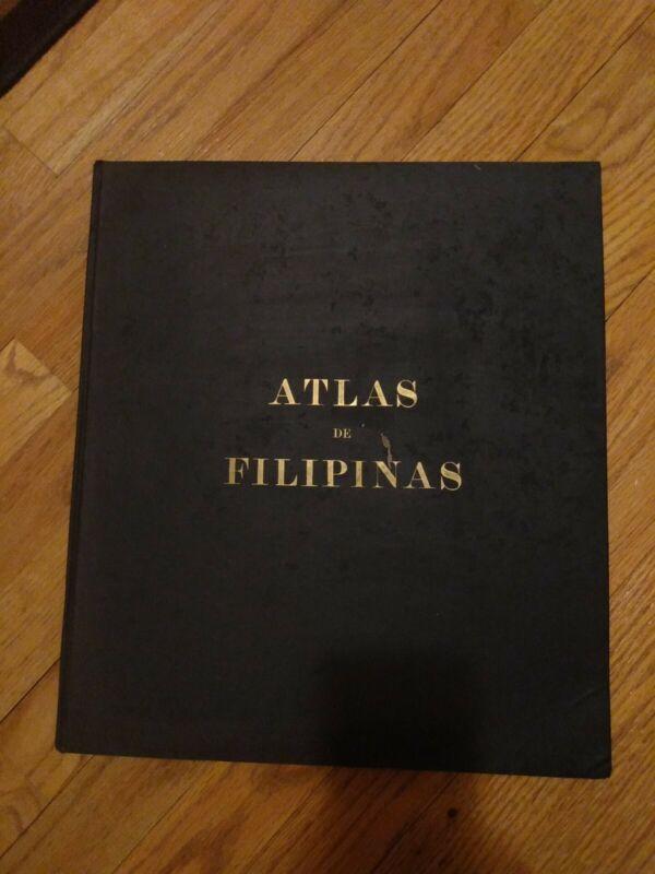 "Antique Book ""Atlas De Filipinas"" U.S. Coast And Geodetic Survey.1900."