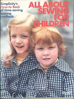 All About Costumes (Simplicity All About Sewing for Children 1973 Tips Beginner How To Costume)