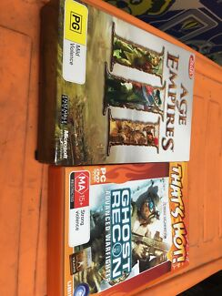 Age of Empires 3 & Tom Clancy's Ghost Recon Advanced Warfighter