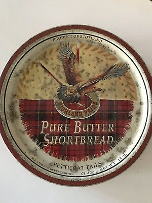 Biscuit Tin Pure Butter Shortbread 1990's