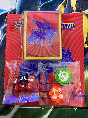 Pokemon Zacian Sealed Card Sleeves Bundle - Elite Trainer Box Sword & Shield