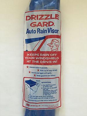 Drive in Theatre Drizzle Gard. Drizzle Guard Auto Rain Visor