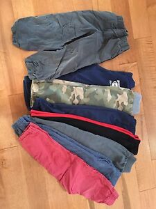 8 pairs of size 5 pants