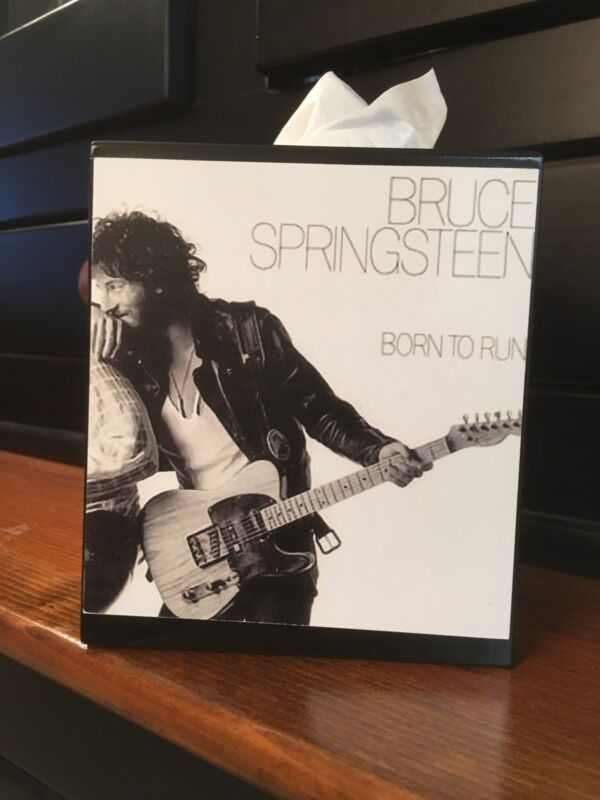 BRUCE  SPRINGSTEEN THE RIVER TISSUE BOX COVER
