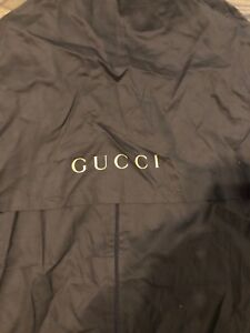 Gucci Slim Cloth Garment Bag with zipper for dresses.