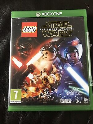 LEGO STAR WARS XBOX ONE- THE FORCE AWAKENS - EXCELLENT CONDITION