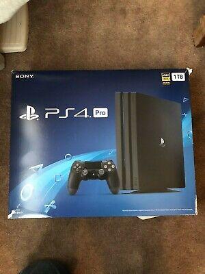 PlayStation 4 Pro 1TB Jet Black Console