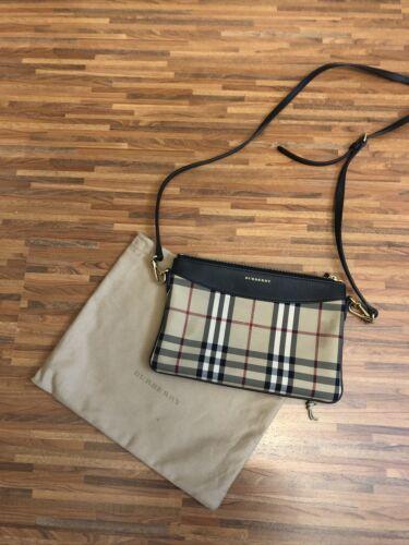 Burberry Tasche Original in beige schwarz mit Rechnung Neuwertig