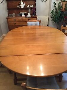 Dining room Table Solid Maple