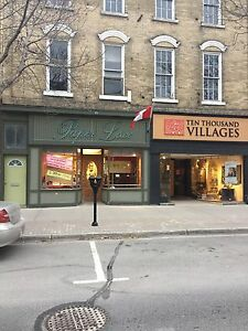 Store for rent king st Cobourg