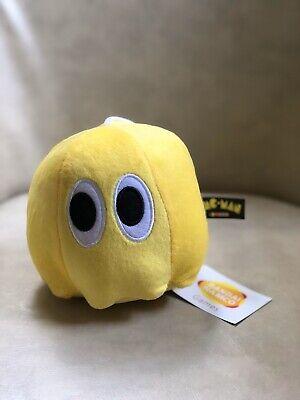 "Pac-Man Plush Yellow Ghost Plush Stuffed Animal Doll Toy 7"""
