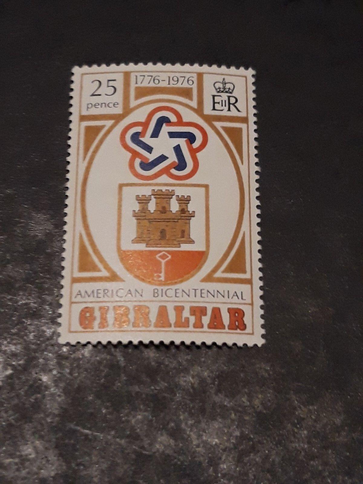 GIBRALTAR 1976 SG 361 Bicentenary American Revolution mnh