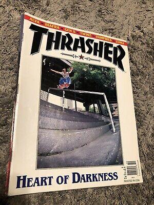 Thrasher Skateboard Magazine October 1995 Chad Muska Tony ALVA Dogtown
