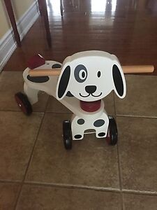Baby Ride On  wooden puppy