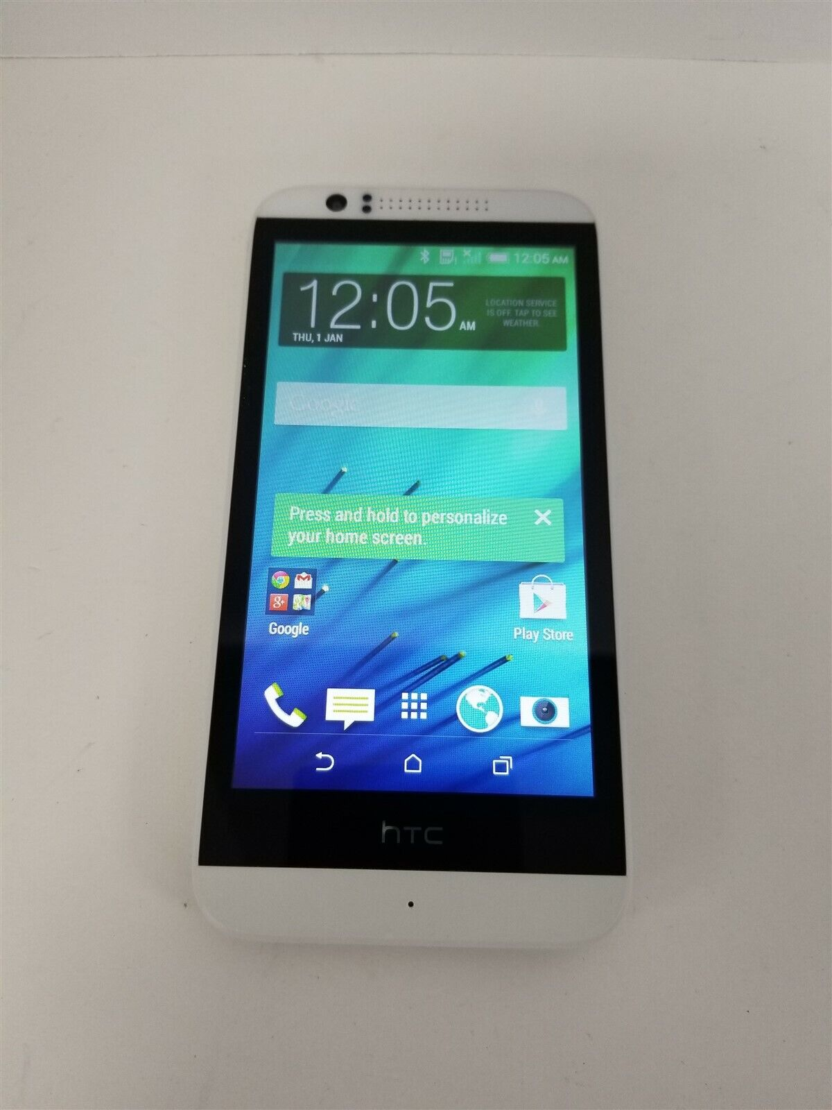 HTC Desire 510 8GB White 0CPV220 (Unlocked) GSM World Phone KG1361