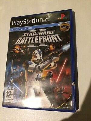 Star Wars Battlefront II (Playstation 2)