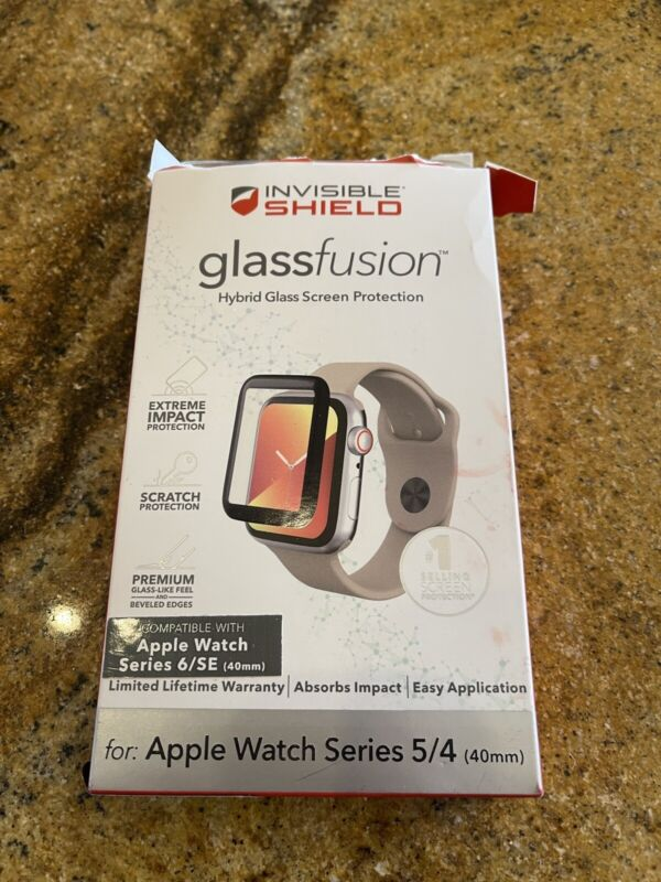 ZAGG InvisibleShield-Glass Fusion Apple Watch Series 6/SE/5/4 - 40mm