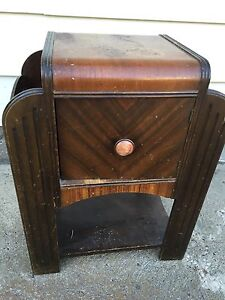 FREE DELIVERY. Vintage antique end table