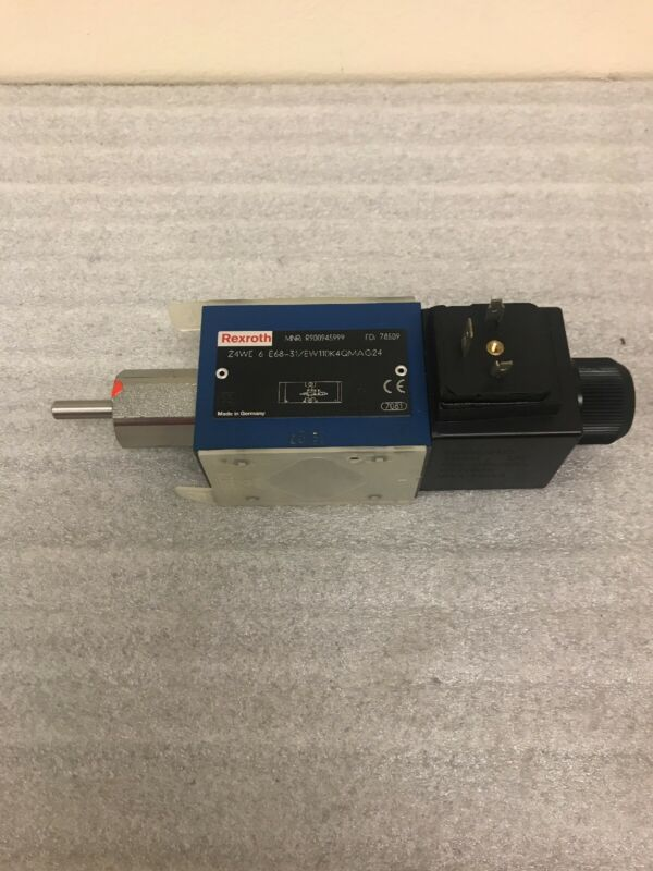 REXROTH Hydraulic Isolation Valve Model: Z4WE6E68-31/EW110K4QMAG24