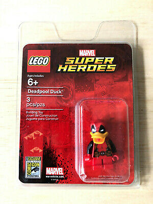 SDCC 2017 Exclusive Lego Limited Edition Deadpool Duck Minifigure New