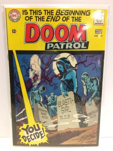 Doom Patrol #121 Comic Book DC 1968