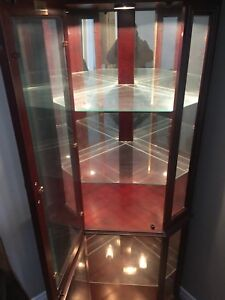 Antique placement display cabinet great shape