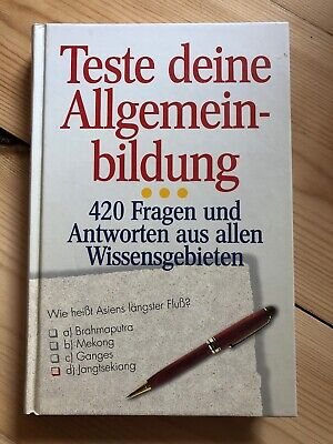 Teste Deine Allgemeinbildung: Kunst & Literatur (2006, Taschenbuch) (Buch, Bildung)