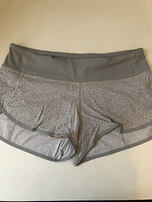 Lululemon Speed Sports Ditsy Floral Size 6 RARE