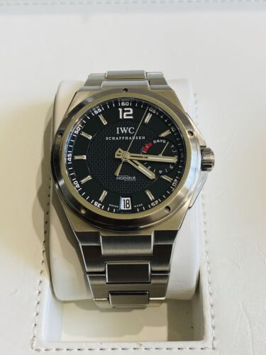 NO RESERVE IWC Big Ingenieur Stainless Steel 45.5mm Black Dial IWC 5005 - watch picture 1