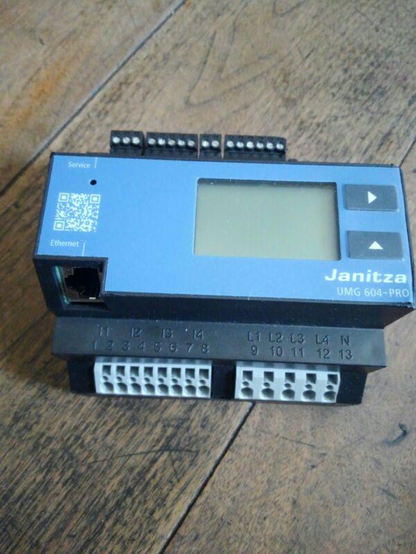 Janitza UMG604-AWS 5216226 Network Analyser