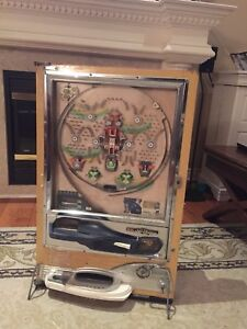 Antique Pachinko Machine, pinball game from Japan. $95 obo