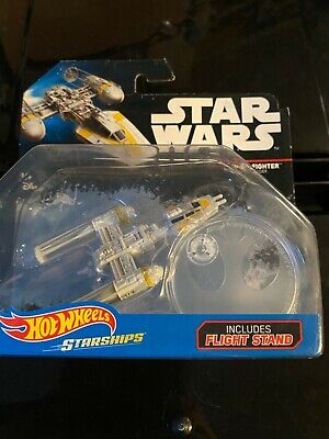 Star Wars Hot Wheels Y-Wing Fighter Brand New
