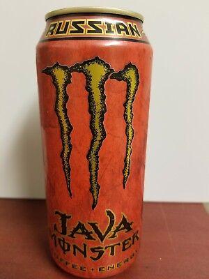 Monster Coffee Energy Drink - Java Monster Russian Coffee+Energy Drink 15oz Can Full Sku 107
